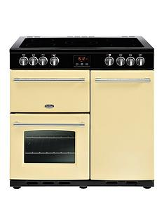 belling-belling-farmhouse-90e-90cm-electric-ceramic-range-cooker-cream