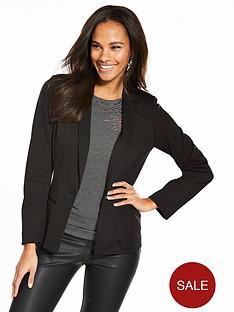 v-by-very-jersey-blazer-black