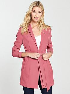 v-by-very-longline-belted-jacket-berry-rose