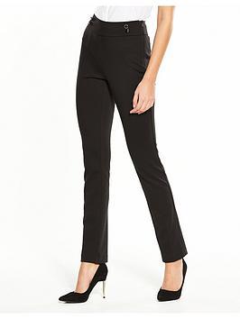 v-by-very-ponte-slim-leg-trouser-black