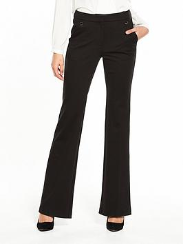 Black Bootcut Very V Trouser Ponte by  Outlet Exclusive Find Great Cheap Online Authentic Cheap Online Free Shipping New Order For Sale JXWZk