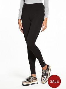 v-by-very-petite-button-detail-ponti-legging