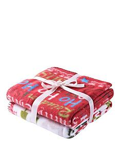 christmas-slogans-throw-pack-of-2