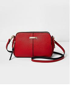 river-island-river-island-red-triple-compartment-cross-body-bag