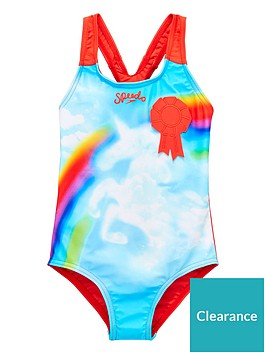 speedo-younger-girls-unicorn-swimsuit