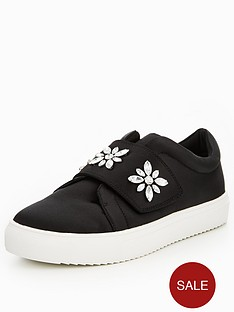v-by-very-athena-embellished-strap-trainer-black