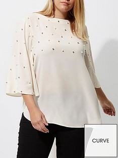 ri-plus-studded-cape-tunic-top