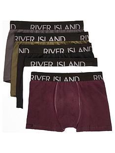 river-island-red-classic-5-pk-trunk