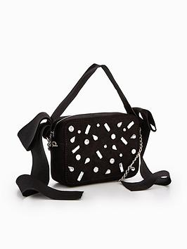 Jewel by Ribbon Strap V Detail Bag Very Multi Best Seller Cheap Price Aohey