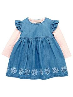 mini-v-by-very-baby-girls-denim-frill-dress-amp-body-set