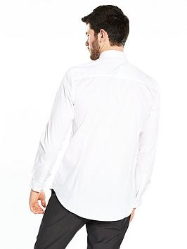 With Paypal Low Price Cheap Sale New Styles Iron To Long Slim Very by Shirt Fit Easy  White Sleeve V Clearance Shop Buy Cheap Cost 0YmrE423