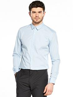 v-by-very-easy-to-iron-long-sleeve-slim-fit-shirt-bluenbsp