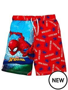 spiderman-boys-swim-shorts