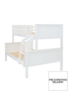 classic-novara-trio-bunk-bed-with-mattress-option-buy-and-save