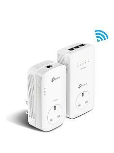 tp-link-1300mbps-gigabit-passthrough-powerline-1350mbps-ac-wi-fi-kit-ndash-3-ports-tl-wpa8630p-kit