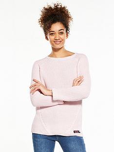 superdry-alyssa-rib-knit-sweater-blush-pink