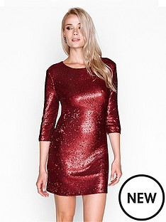 girls-on-film-sequin-bodyconnbspmini-dress-matt-red