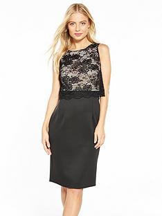 wallis-swirl-lace-top-scuba-dress