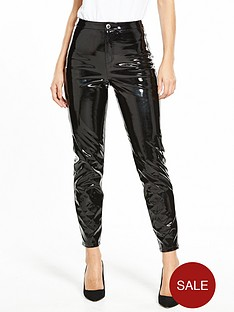 miss-selfridge-vinyl-trouser