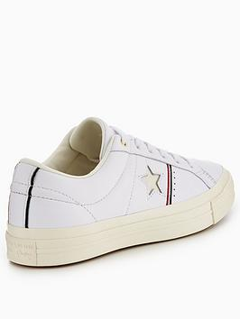 Piping Star Pack Ox One Leather Converse Sale Nicekicks oSjytQf23