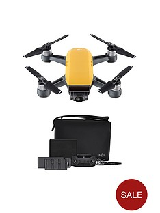 dji-spark-fly-more-combo-quadcopternbspdrone-sunrise-yellow