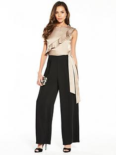 phase-eight-frill-jumpsuit-blacklatte