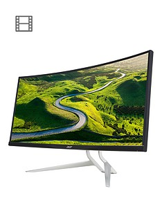 acer-xr382cq-375in-ultrawide-qhd-ips-curved-monitor-speakers-height-adjust-stand-freesynctrade