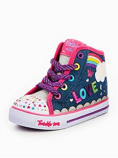 skechers-skechers-shufle-sparkle-skies-rainbow-hi-top-trainer