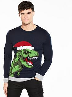 river-island-party-dino-christmas-jumper