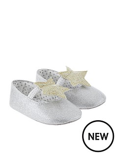 monsoon-baby-sparkle-star-bootie