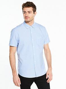 v-by-very-short-sleeve-oxford-shirt-bluenbsp