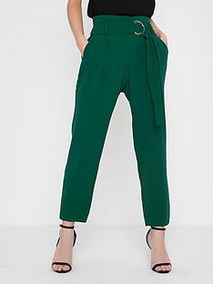 ri-petite-tapered-trousers--green