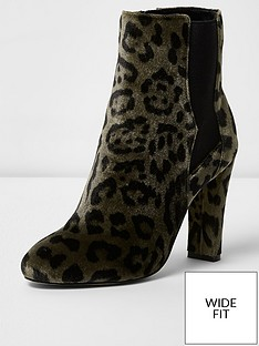 river-island-river-island-wide-fit-rosina-smart-heeled-boot
