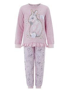monsoon-selena-bunny-jersey-pyjamas