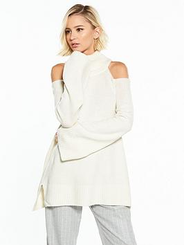 Shoulder Island Ivory Jumper Cold River Websites Cheap Price Discount Best IAXB9fxF8X