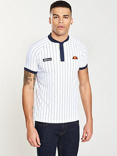 ellesse-pennetta-striped-poly-polo