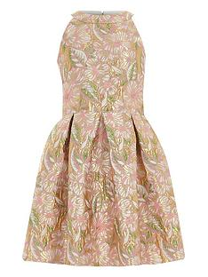river-island-girls-pink-floral-brocade-prom-dress