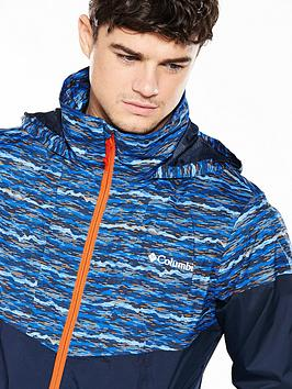 Limits Inner Windbreaker Printed Columbia For Nice Cheap Online Cheap Sale Fashion Style Very Cheap Websites Cheap Online Outlet Genuine TYqhcBdrG