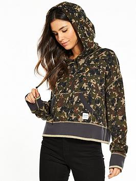 Hoodie Cropped  Camo Pullover Converse nbsp Essentials Star Affordable Sale Online yT7VRkjE