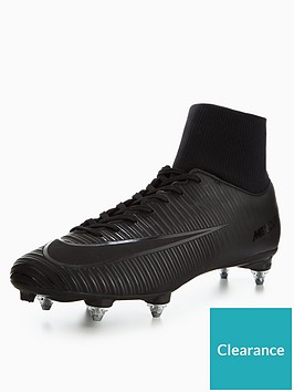 0dd622521b62 Nike Mens Mercurial Victory Vi Dynamic Fit Soft Ground Football Boot - Black
