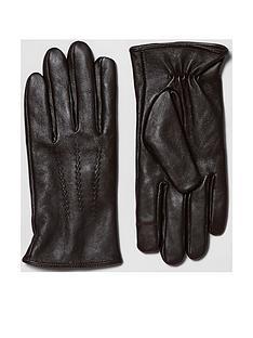 river-island-mens-leather-glove