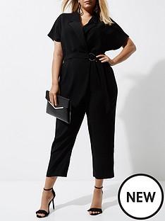 ri-plus-wrap-jumpsuit--black