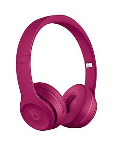 b960c9b94f7 Beats by Dr Dre Solo 3 Wireless On-Ear Headphones - Neighbourhood  Collection, Brick Red