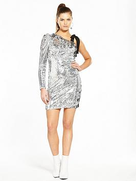 Buy Cheap Inexpensive Outlet Finishline Silver V Sleeve by One Dress Unique Very Cheap New Styles Outlet Great Deals Sale With Paypal twhKq