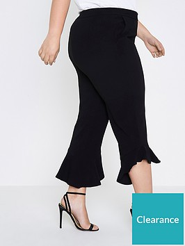 ri-plus-frill-cropped-trousers--black