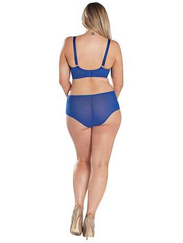Perfect 100 Authentic Sale Online  Victory Blue Kate Electric Curvy Balconette Bra Cheap 2018 CinF43M