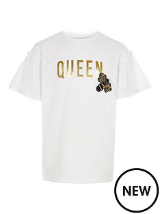 river-island-girls-white-lsquoqueenrsquo-bee-embellished-t-shirt