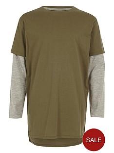 river-island-boys-khaki-double-layer-t-shirt
