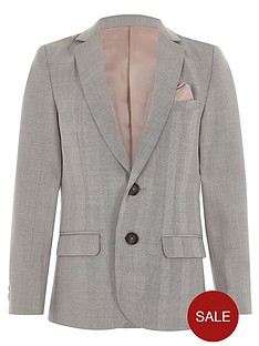 river-island-boys-grey-check-suit-blazer