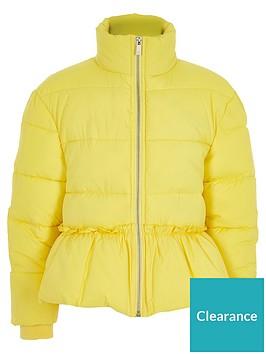 river-island-girls-yellow-peplum-hem-padded-jacket